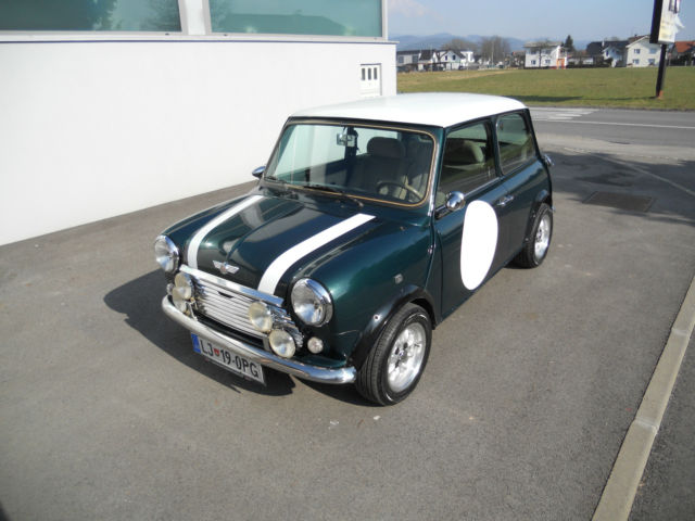 1978 Mini Classic Mini (British Racing Green/Tan)
