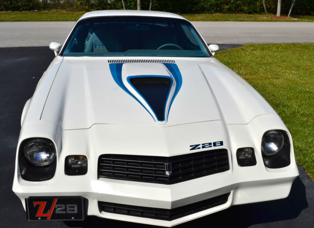 Four Seasons Air Conditioning >> Seller of Classic Cars - 1979 Chevrolet Camaro (White/Blue)
