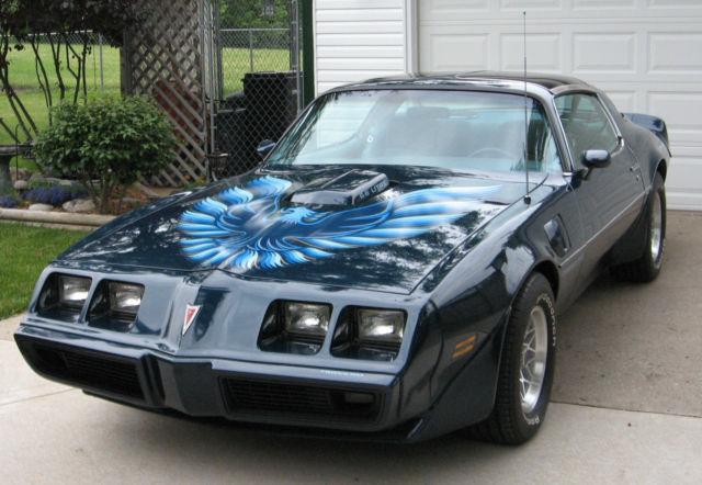 seller of classic cars 1979 pontiac trans am blue blue. Black Bedroom Furniture Sets. Home Design Ideas