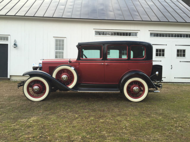 1931 Chevrolet AE Independence (Red and Black/Gray)