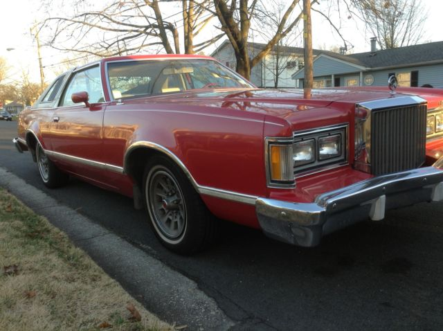 1978 Mercury Cougar (Red/White)
