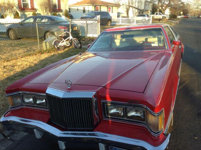 Seller of Classic Cars  1978 Mercury Cougar RedWhite