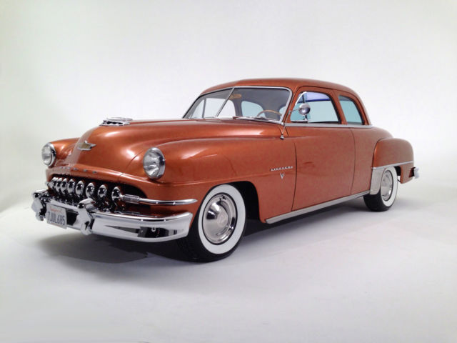 1952 DeSoto Firedome 8 (Burnt Orange/Coffee)