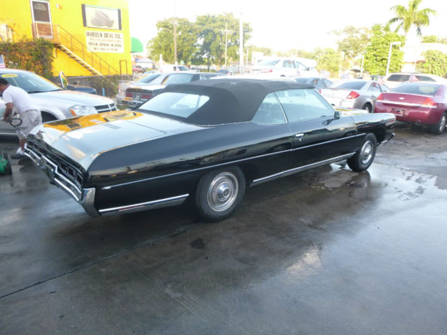 seller of classic cars 1971 chevrolet impala black black. Black Bedroom Furniture Sets. Home Design Ideas