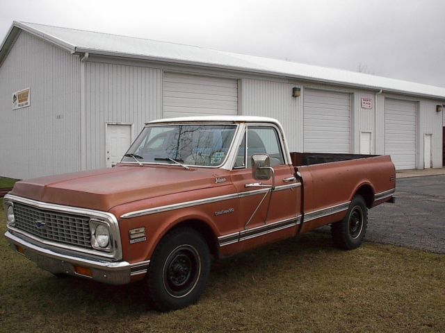 1971 Chevrolet C/K Pickup 2500 (Brown/White)