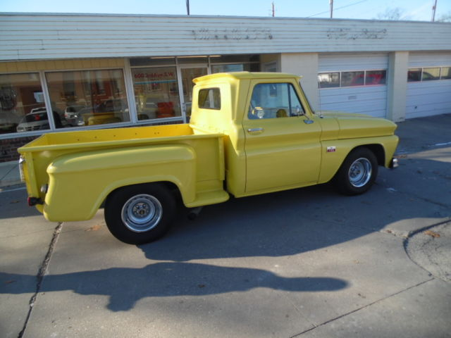 Seller Of Classic Cars 1966 Chevrolet C 10 Yellow Gray