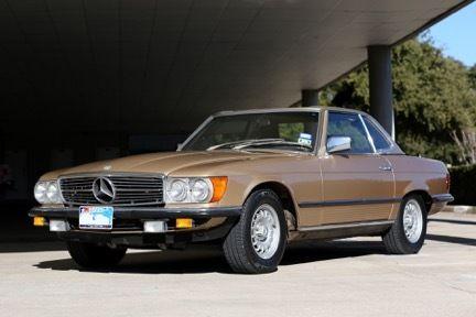 Seller of classic cars 1979 mercedes benz sl class gold for Mercedes benz private sellers
