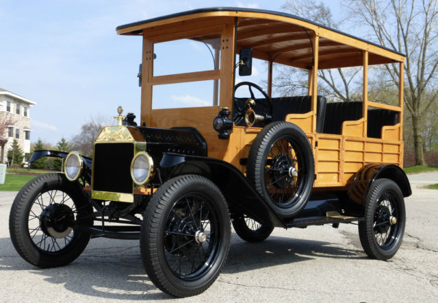 1915 Ford Model T (Brown/Brown)