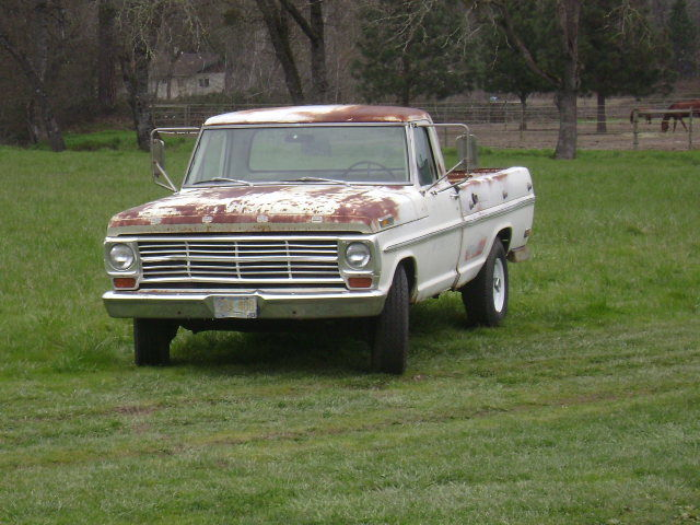 Seller Of Classic Cars 1969 Ford F 250 WhiteWhite And