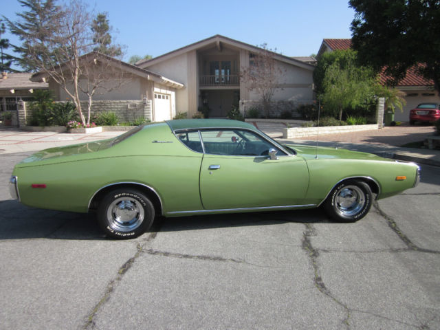 Seller Of Classic Cars 1972 Dodge Charger Green Green