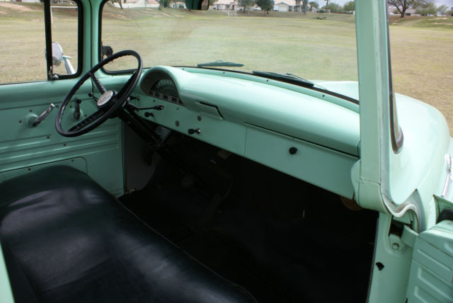 seller of classic cars 1956 ford f 100 green green black. Black Bedroom Furniture Sets. Home Design Ideas