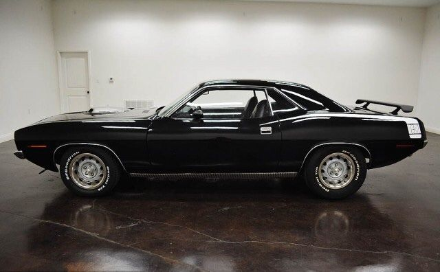 Seller Of Classic Cars 1970 Plymouth Barracuda Black Black