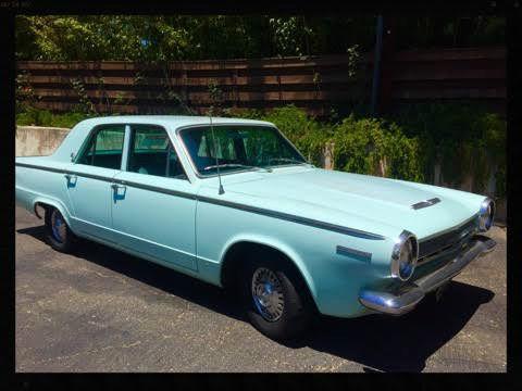 Seller Of Classic Cars 1964 Dodge Dart Light Blue Light