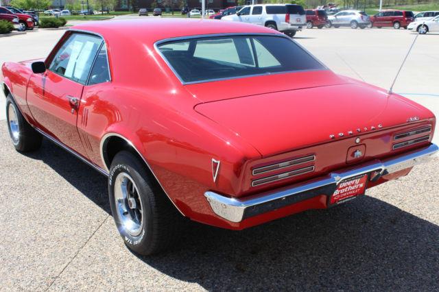 Seller Of Classic Cars 1968 Pontiac Firebird Bright Red