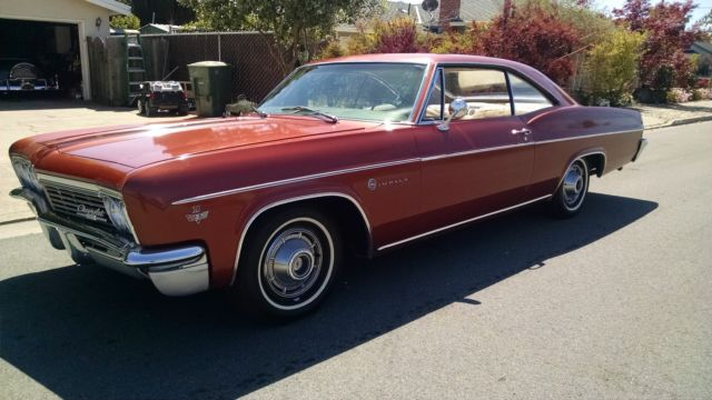 seller of classic cars 1966 chevrolet impala copper white. Black Bedroom Furniture Sets. Home Design Ideas