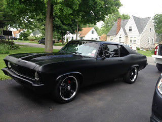 Seller of Classic Cars 1971 Chevrolet Nova flat black