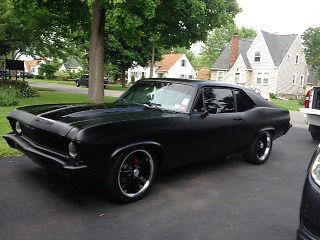 Seller of Classic Cars 1971 Chevrolet Nova flat black