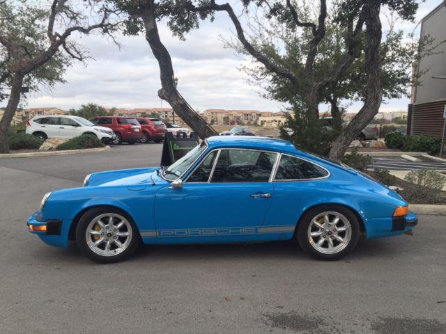Seller Of Classic Cars 1975 Porsche 911 Mexico Blue Black