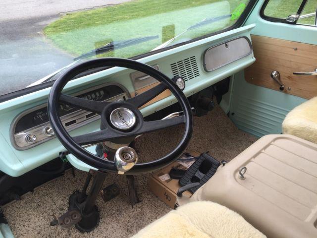 Seller Of Classic Cars 1964 Gmc Handi Van Green Brown