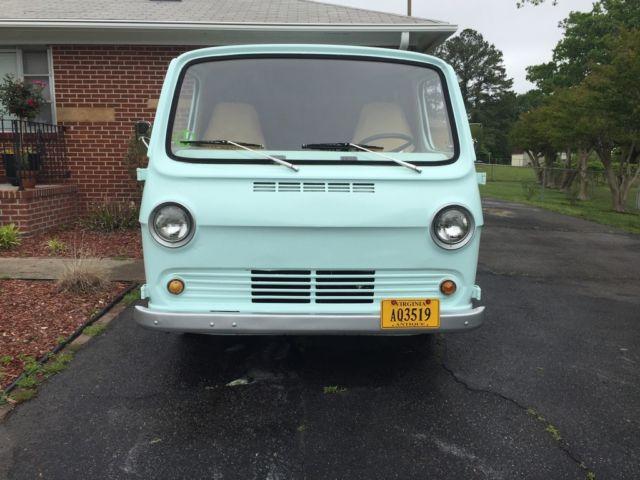 1964 GMC Handi Van Green Brown
