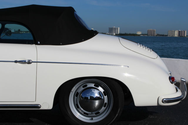 Porsche Dealers South Florida >> Seller of Classic Cars - 1958 Porsche 356 (Ivory (POR5704)/Siena Brown Full Leather)