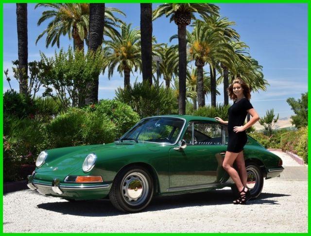 Seller Of Classic Cars 1966 Porsche 912 Green Black