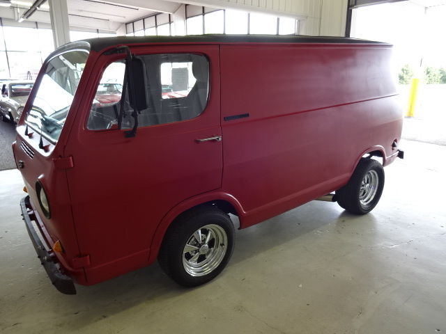 Seller of Classic Cars - 1965 Chevrolet G20 Van (Red/Black)