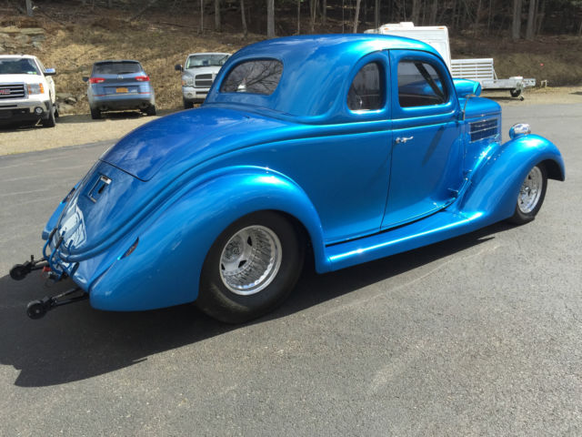 Seller of classic cars 1936 ford 5 window coupe blue grey for 1936 ford five window coupe