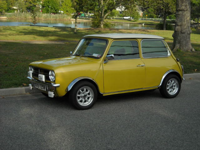 1980 Austin Clubman (Yellow/Black)