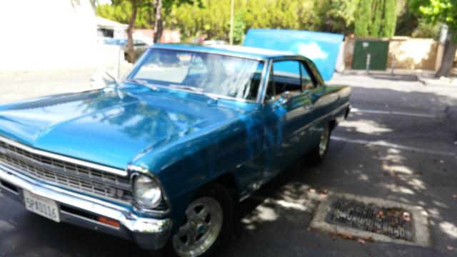 Seller of classic cars 1967 chevrolet nova blue black