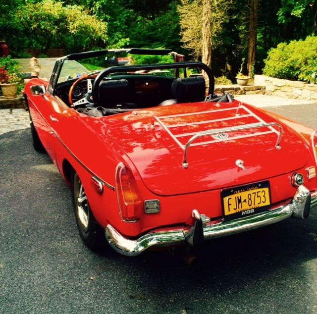 1972 MG MGB (Original Flame Red