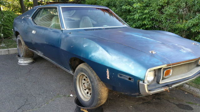 1973 AMC Javelin (Blue/Beige)