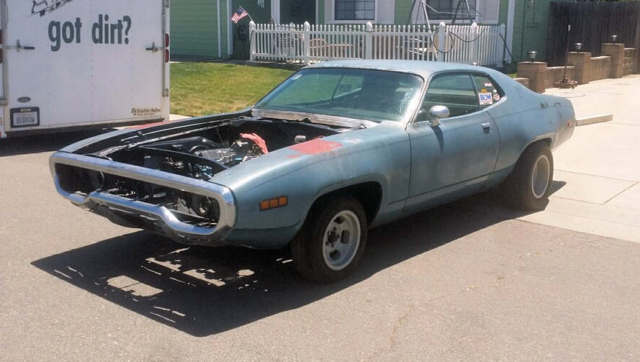 1971 Plymouth Satellite (Blue/Black)