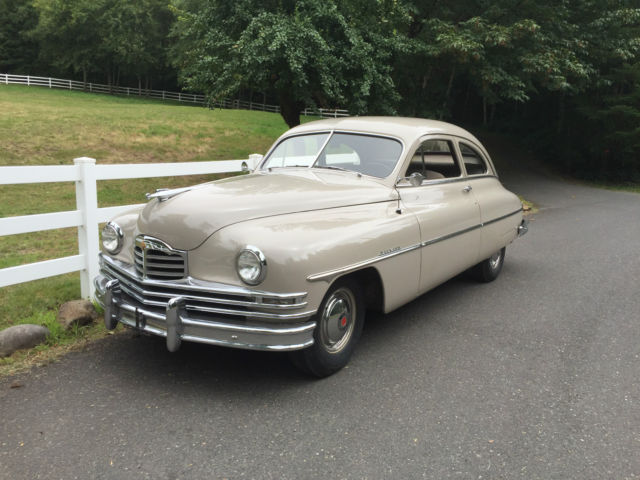 1949 Packard CLUB EIGHT COUPE (Egyptian Sand/Tan\Brown)