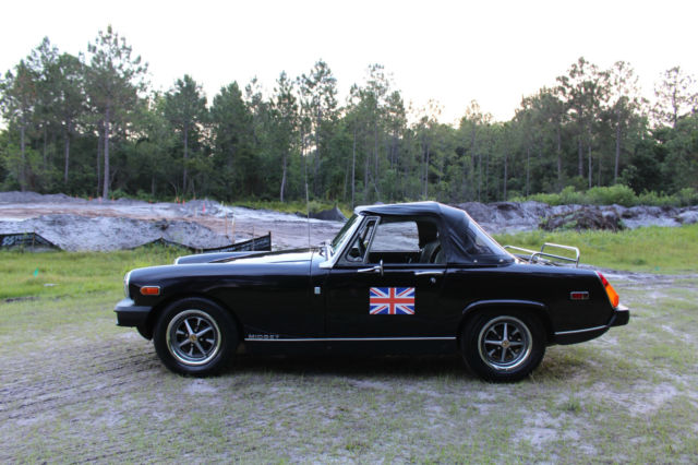 Black mg midget very