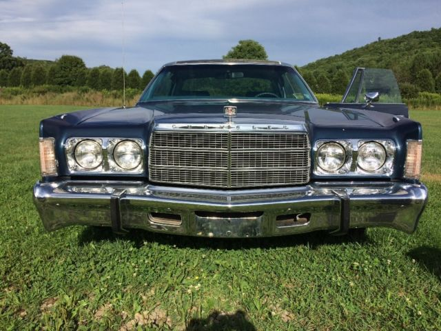 1978 Chrysler Newport (Blue/Blue)
