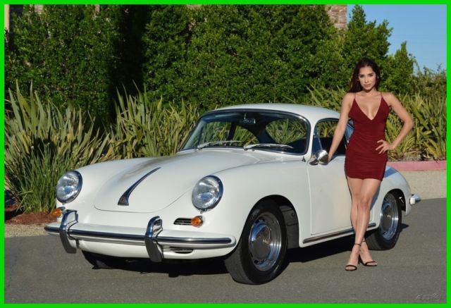 Seller Of Classic Cars 1964 Porsche 356 White Black