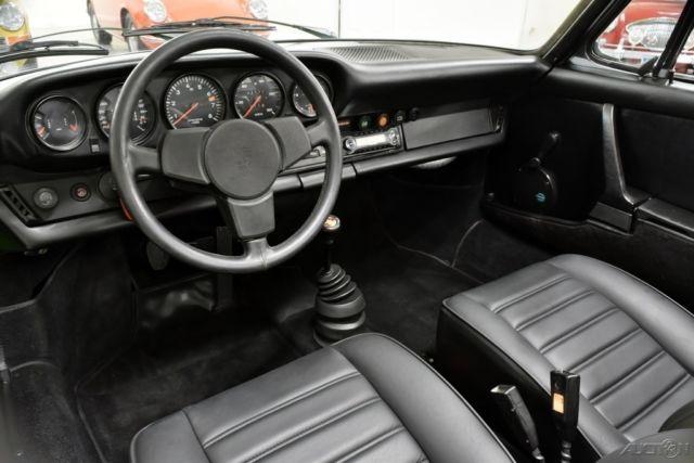 seller of classic cars 1974 porsche 911 green black. Black Bedroom Furniture Sets. Home Design Ideas
