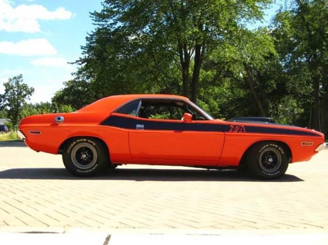 Seller Of Classic Cars 1971 Dodge Challenger Orange Black