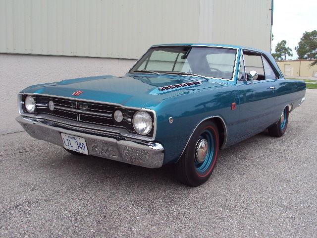 1968 Dodge Dart TURQUOISE METALLIC BLACK