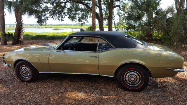 Seller Of Classic Cars 1968 Chevrolet Camaro Ash Gold Black