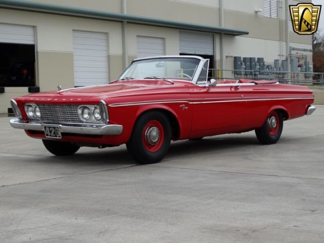 1963 Plymouth Fury (Red/Red)