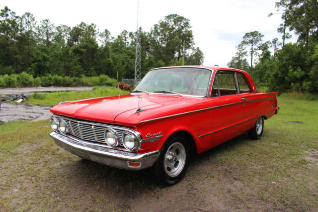 1963 Mercury Comet (Red/Black)