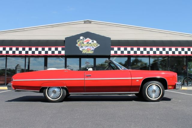 1975 Chevrolet Caprice (Red/White)