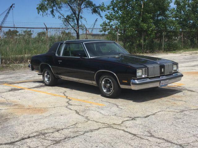 1979 Oldsmobile Cutlass Black