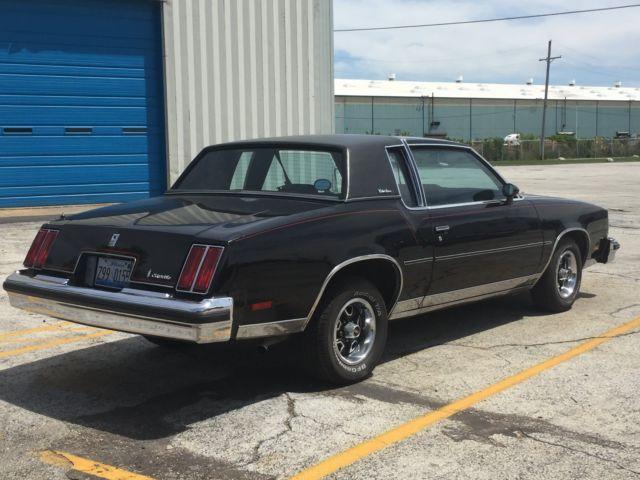 Seller of Classic Cars - 1979 Oldsmobile Cutlass (Black/Black)