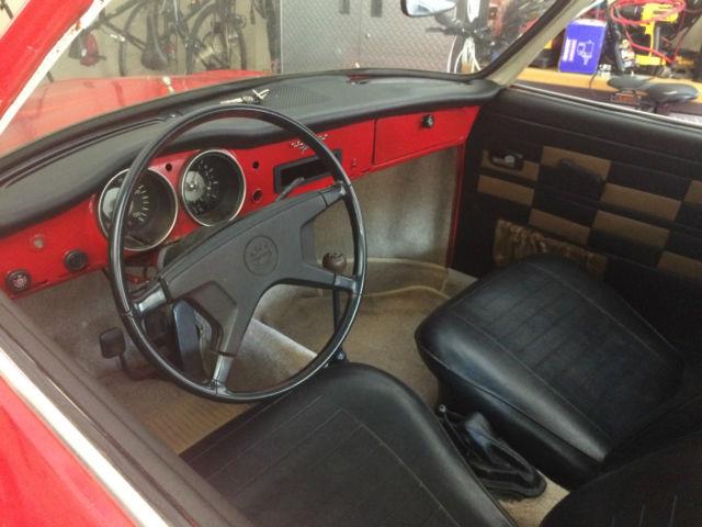 Seller Of Classic Cars 1972 Volkswagen Karmann Ghia Red