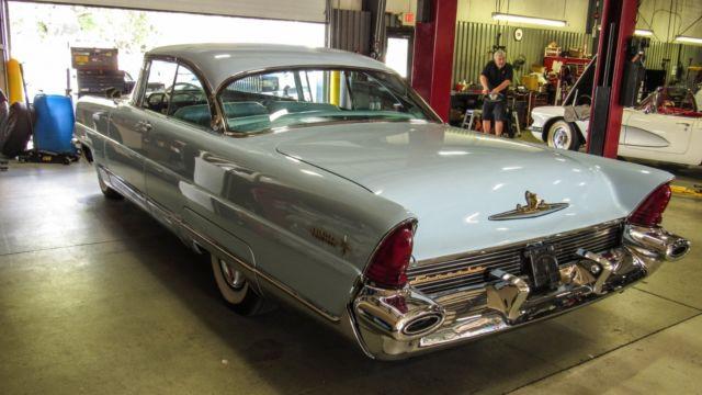 seller of classic cars 1956 lincoln premiere blue blue. Black Bedroom Furniture Sets. Home Design Ideas