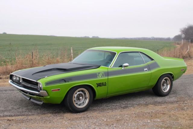 Seller Of Classic Cars 1970 Dodge Challenger Sublime Greenblack