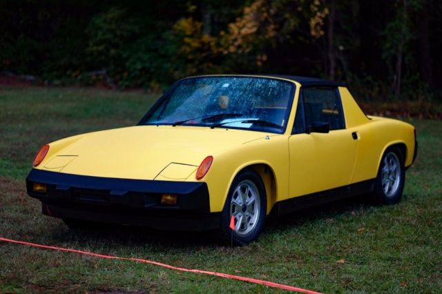 Seller Of Classic Cars 1975 Porsche 914 Yellow Black